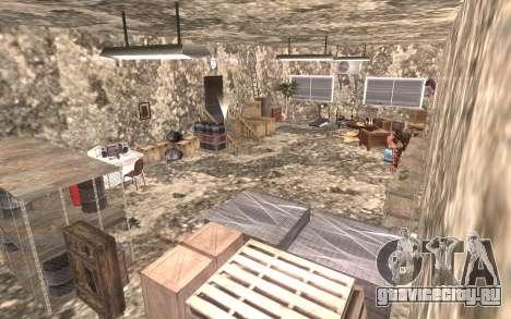 Подвал дома Карла для GTA San Andreas четвёртый скриншот
