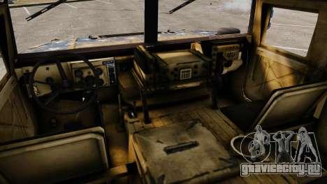 HMMWV M1114 Freedom для GTA 4 вид сзади