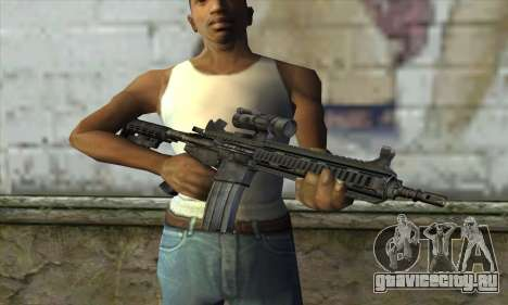HK416 для GTA San Andreas третий скриншот