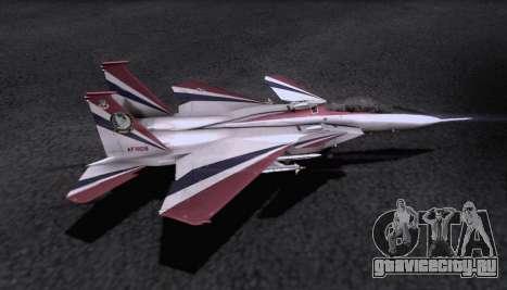 F-15S для GTA San Andreas вид сверху