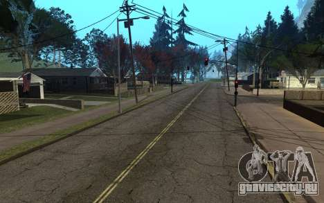RoSA Project v1.4 Countryside SF для GTA San Andreas