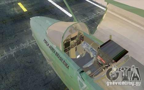 A-1M AMX для GTA San Andreas вид сзади слева