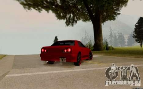 Elegy Tokyo для GTA San Andreas вид слева