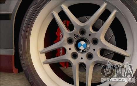 BMW M5 E34 1995 для GTA San Andreas вид сзади слева