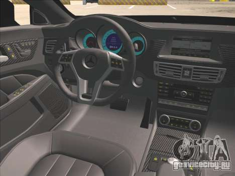 Mercedes-Benz CLS350 2012 для GTA San Andreas вид сбоку