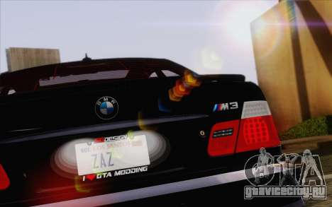 IMFX Lensflare v2 для GTA San Andreas шестой скриншот