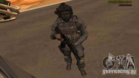 Sgt Keegan P.Russ из Call Of Duty: Ghosts для GTA San Andreas