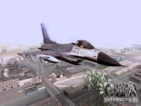 F-16 A для GTA San Andreas