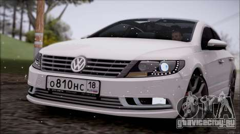 Volkswagen Passat CC для GTA San Andreas