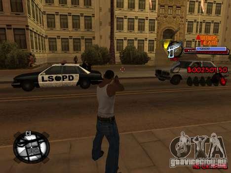 C-HUD Admins Team для GTA San Andreas седьмой скриншот