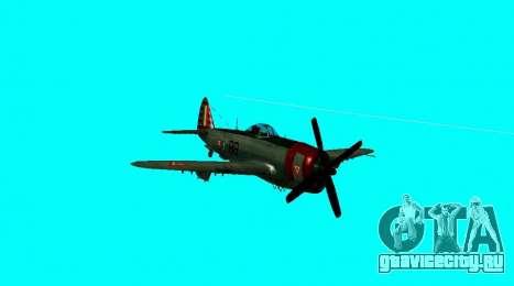 P-47 Тандерболт для GTA San Andreas вид справа