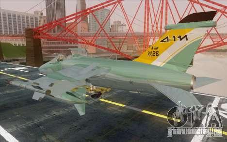 A-1M AMX для GTA San Andreas вид слева