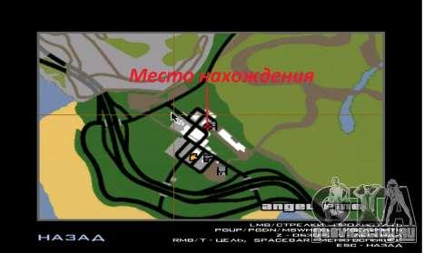 Новый дом Сиджея в Angel Pine для GTA San Andreas четвёртый скриншот