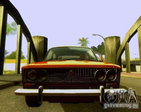 Ваз 2103 Tuneable для GTA San Andreas вид изнутри