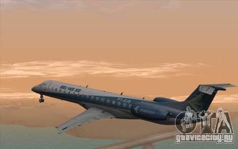 Embraer 145 Xp для GTA San Andreas вид слева