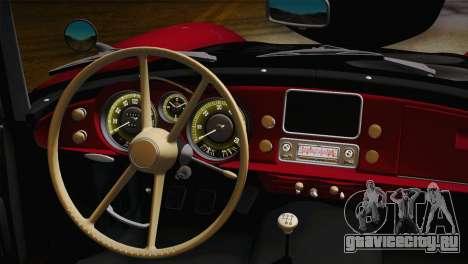 BMW 507 1959 Stock для GTA San Andreas вид справа