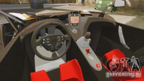 KTM X-Bow R [FINAL] для GTA 4 вид изнутри