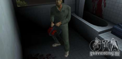 Бензопила Тайга для GTA Vice City второй скриншот
