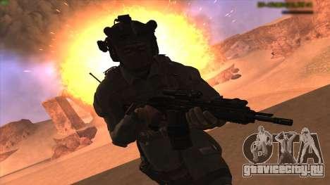 Sgt Keegan P.Russ из Call Of Duty: Ghosts для GTA San Andreas второй скриншот