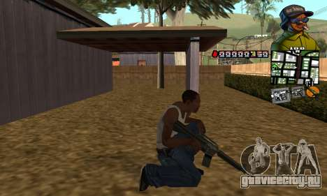 C-HUD Rider для GTA San Andreas третий скриншот