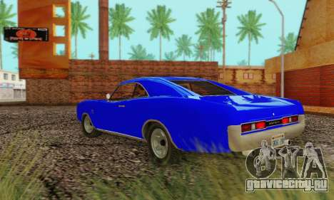 GTA 4 Imponte Dukes V1.0 для GTA San Andreas вид справа