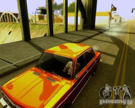 Ваз 2103 Tuneable для GTA San Andreas вид сзади