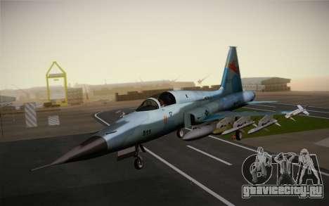 F-5E Tiger II для GTA San Andreas