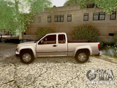 Chevrolet Colorado для GTA San Andreas двигатель