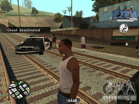 C-HUD RIfa Gang для GTA San Andreas третий скриншот