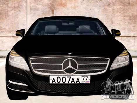 Mercedes-Benz CLS350 2012 для GTA San Andreas вид слева