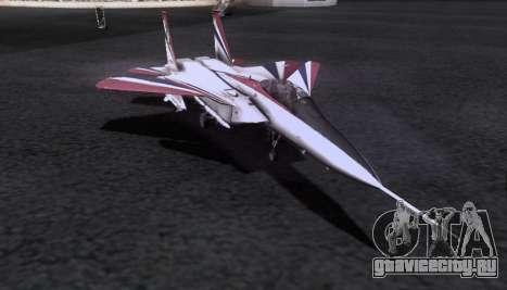 F-15S для GTA San Andreas вид сбоку