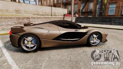 Ferrari LaFerrari v2.0 для GTA 4 вид слева