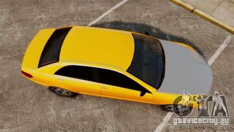 Benefactor Schafter 2014 для GTA 4 вид справа