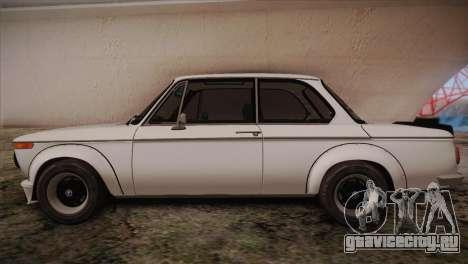 BMW 2002 1973 для GTA San Andreas вид слева