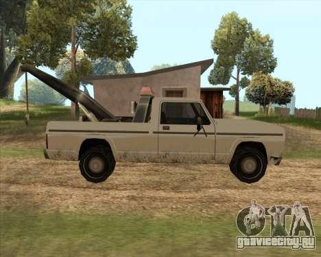Новый Эвакуатор (Sadler) для GTA San Andreas вид слева