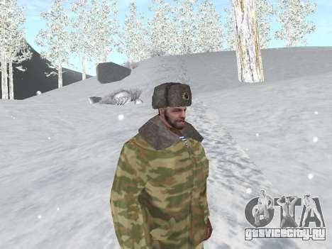 Пак русской армейской одежды для GTA San Andreas седьмой скриншот