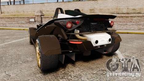 KTM X-Bow R [FINAL] для GTA 4 вид сзади слева