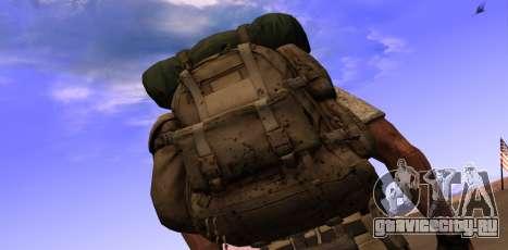 Рюкзак из MОH Warfighter для GTA San Andreas второй скриншот