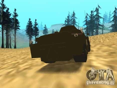 Гвардейская БРДМ-2 для GTA San Andreas вид справа