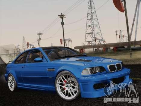 BMW M3 E46 GTR 2005 для GTA San Andreas