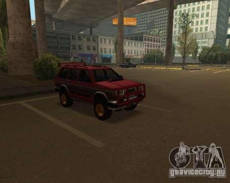 Landstalker V2 для GTA San Andreas вид сбоку