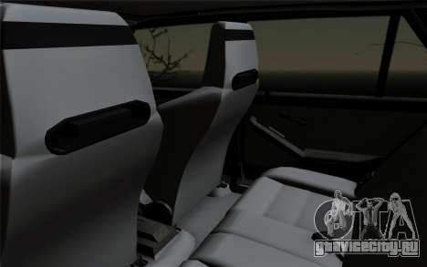 Lancia Delta HF Integrale Evo2 для GTA San Andreas вид сбоку