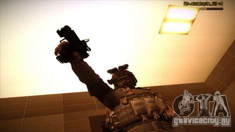 Sgt Keegan P.Russ из Call Of Duty: Ghosts для GTA San Andreas десятый скриншот