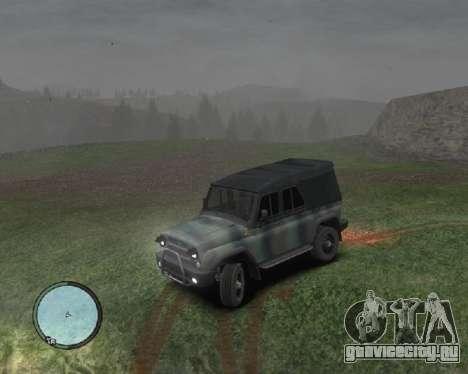 УАЗ-3159 Барс Тентованный для GTA 4 вид слева