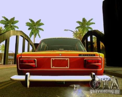 Ваз 2103 Tuneable для GTA San Andreas вид сбоку
