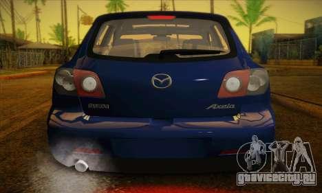 Mazda Axela Sport 2005 для GTA San Andreas вид сбоку