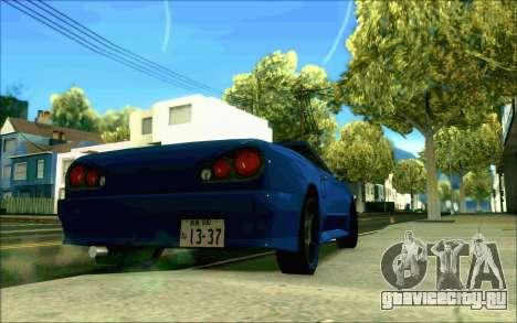 Elegy Tokyo Кабриолет для GTA San Andreas вид слева