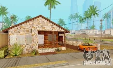 Новый дом Биг Смоука для GTA San Andreas второй скриншот