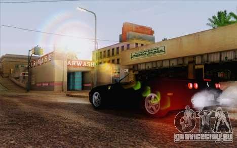 IMFX Lensflare v2 для GTA San Andreas третий скриншот