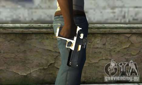 Golden Desert Eagle для GTA San Andreas третий скриншот